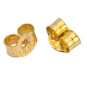 Laval - Fermoir pour boucles d'oreilles or jaune 375/1000e - (1 paire)