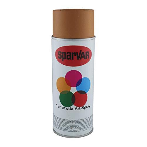 SparVar 6029115 Terracotta Spray, 400 ml, Florenz-Mitteldunkel, für täuschend echte Terracottaoberflächen