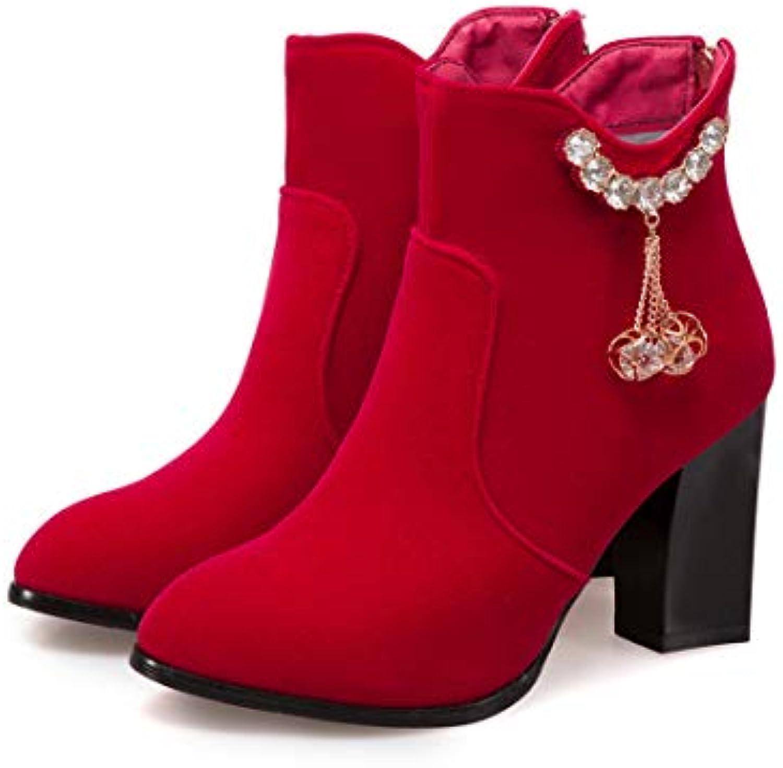 Stivali   Stivaletti da Sposa Rossi   Stivali Stivali Stivali di Grandi Dimensioni col Tacco Alto | Gioca al meglio cf78e4