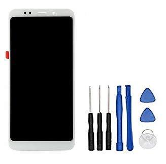 Theoutlettablet - Pantalla LCD Completa LCD capacitiva con tactil digitalizador para Smartphone Xiaomi Redmi 5 Plus + Herramientas - Color Blanco