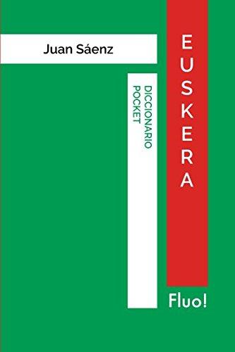 Diccionario Pocket Euskera por Juan Sáenz