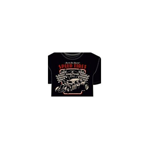Goodyear Herren T-Shirt Schwarz