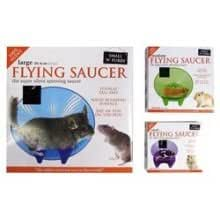 """Small 'N' Furry Flying Saucer Wheel Large 12"""""""