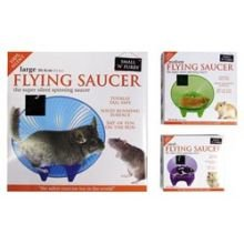 Small n Furry Flying Saucer Hamster Wheel Large (12 inch)