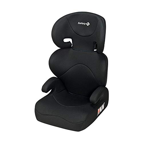 Safety 1st ROAD SAFE 'Full Black' - Silla de coche para niño, 3-12 años, 15-36 kg, gru po 2/3, color negro