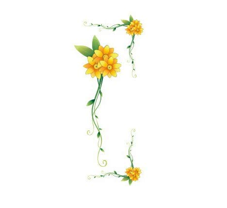 Blume Rebe Schalter Aufkleber Auto Aufkleber Notebook Aufkleber Kühlschrank Aufkleber Landschaftsgestaltung