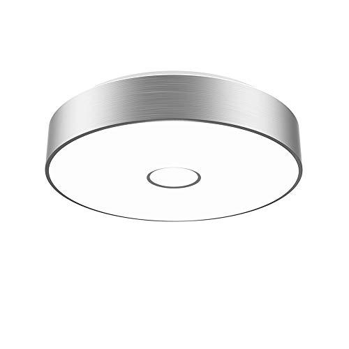 Onforu 18W LED Deckenleuchte 1600lm | 5000K Kaltweiß LED Deckenlampe mit Aluminiumrahmen Ø28cm | IP65 Wasserdicht | Ersetzt 180W Glühbirne | Ideal für Wohnzimmer, Küche, Badezimmer, Balkon etc.