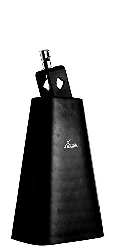 XDrum HCB-6 Cowbell (Kuhglocke Schlagzeug/Drums/Percussion, lackiert) silber