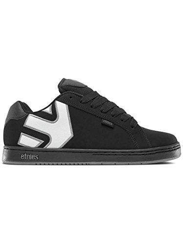 Herren Skateschuh Etnies Fader Skate Shoes Schwarz (Black/Black/Reflective)