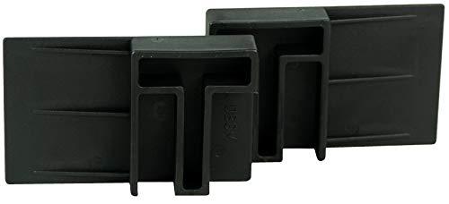 HRB Rolladen Stopper, Fenstersicherung Einbruch gegen hochschieben, Einbruchschutz ohne Bohren oder Schrauben, Klemmen auch bei gekippten Fenster nutzbar