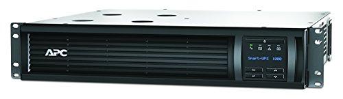 APC Smart-UPS SMT - Unterbrechungsfreie Stromversorgung 1.000VA Rackmodell 2U - SMT1000RMI2U - Line Interactive, AVR, LCD Display, 4 Ausgänge IEC-C13, Shutdown Software -