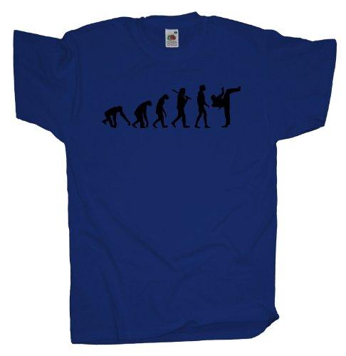 Ma2ca - Evolution - Kickboxen T-Shirt Royal