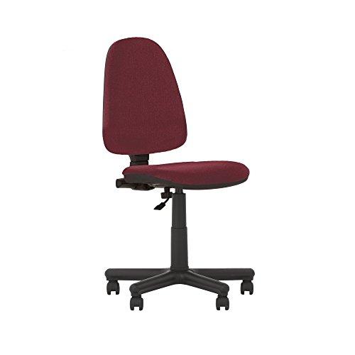Prestige II Bürodrehstuhl, ergonomisch, neigbare Rückenlehne, Sitz verstellbar, verstellbare Rückenlehne, keine Armlehnen,130 kg Tragkraft,-aus Stoff