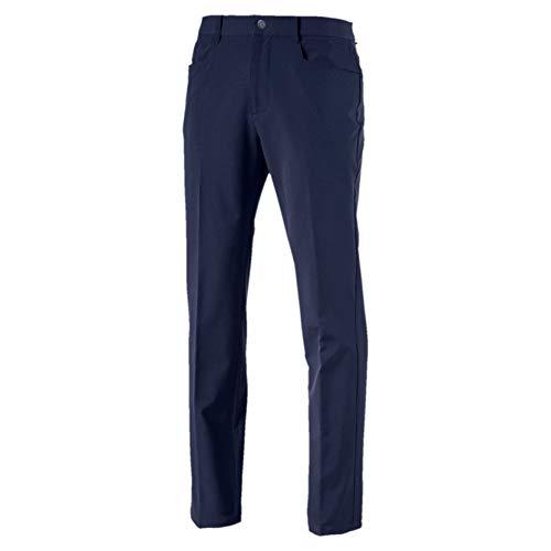 Puma Herren Stretch Utility Pants Hose, Peacoat, W34/L32