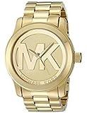 Michael Kors Damen-Armbanduhr Runway Necklaces Halskette Edelstahl MK5473Gold