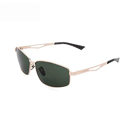 Kanqingqing UV-Sonnenbrille New Wayfarer Nicht Polarisierte Sonnenbrille Für Männer Für Frauen Sonnenbrille 64 Mm (Farbe : Grün, Größe : Casual Size)