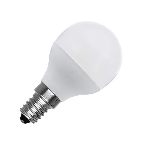 Bombilla LED E14 G45 5W Blanco Neutro 4000K-4500K