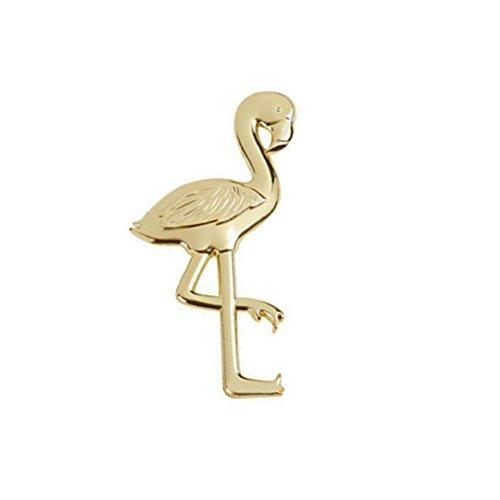 OUNONA Flamingo Bieröffner/Flaschenöffner für Hochzeit Geburtstag Party,Gold