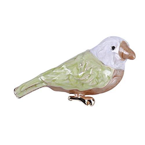 Toporchid Vintage Niedlich Emaille Oriole Vogel Broschen Pin Für Frauen Schmuck Bekleidungszubehör - Orioles Vogel Kostüm