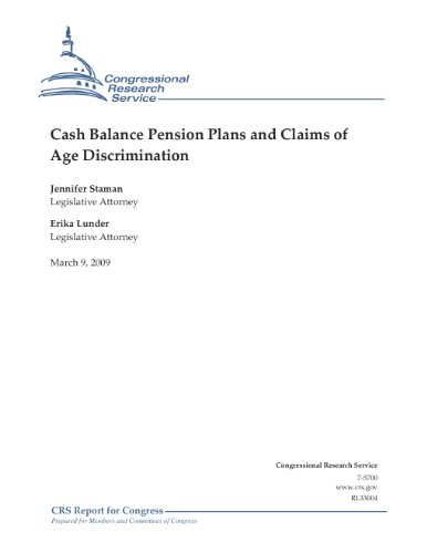 Cash Balance Pension Plans and Claims of Age Discrimination