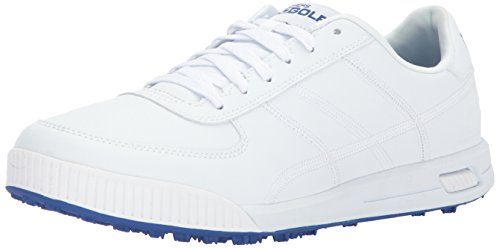 Skechers 2018 Mens GO Golf Drive Classic Spikeless Street Golf Shoes 54530 White 9UK
