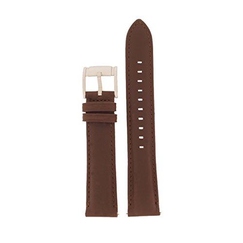 Fossil Uhrband Wechselarmband LB-FS4839 Original Ersatzband FS 4839 Uhrenarmband Leder 20 mm Braun (20 Mm Fossil Leder Uhr Band)