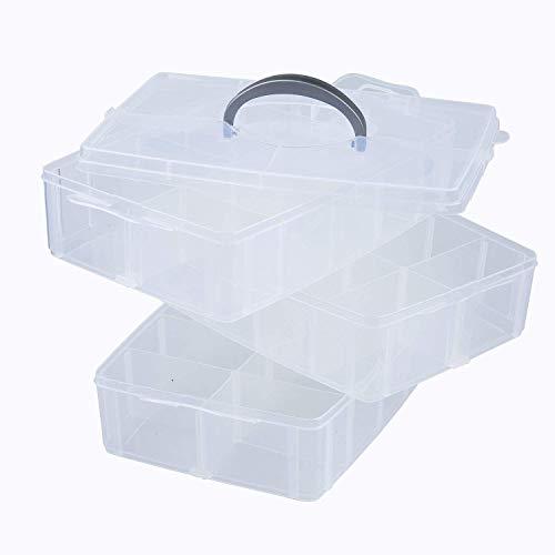 Zoom IMG-2 scatola portaoggetti in plastica a