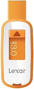 Lexar Professional JumpDrive S23 8GB USB 3.0 (100MB/s) Retractable Design Flash Drive Memory Stick - Orange