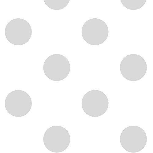 murando - Vlies Tapete - Deko Panel Fototapete - Wandtapete - Wand Deko - 10 m Tapetenrolle - Mustertapete - Wandtapete - modern design - Dekoration - Tupfen Punkte f-A-0422-j-b