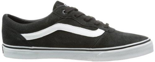 Vans M Milton, Sneakers Hautes homme Noir (Suede/Raven/White)