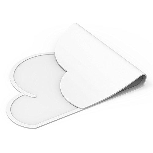phifo one-piece antiscivolo in silicone per la pappa e tovaglietta pasto e tappetino da tavolo (3 Happy Meal)