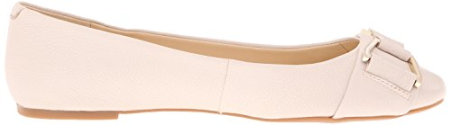 Nine West Mackles Leather Ballet Flat Off White