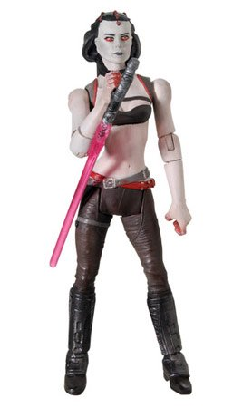 Maris Brood The Force Unleashed Star Wars 30th Anniversary Collection 2008 - Star Wars Padawan Kostüm