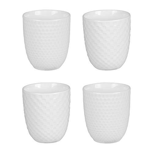 Coffret de 4 gobelets à thé Snow 20 cl