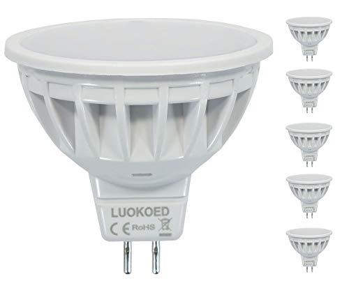 Bombilla Mr16 LED Foco 500lm Equivalente a 50W Luz Blanco Frio 6000K...