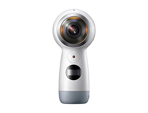 Samsung Gear 360 (2017 Edition) Spherical Cam 360 degree 4K Camera SM-C210 for Galaxy S6, S6 edge, S6 edge +, Note5, S7, S7 edge, S8, S8 +, A5 (2017) (International Version)