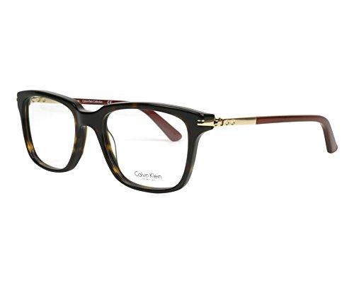 Calvin Klein Collection - CK7992, Rechteckig, allgemein, Damenbrillen, HAVANA (214 ), 50/18/135