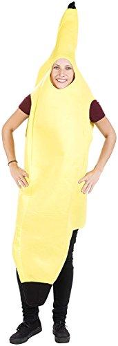 infactory Faschingskostüme: Witziges Party- und Faschings-Kostüm Alles Banane (Faschingskostüme - Freche Banane Kostüm