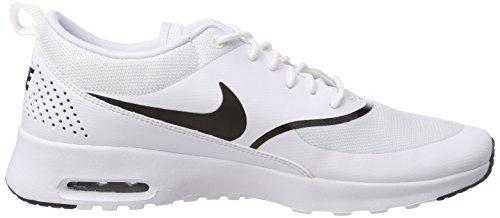 Nike Damen Sneaker Air Max Thea Laufschuhe, Weiß (Whiteblack 108), 38 Eu