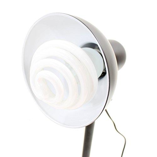 DYNASUN Kit 2x PS01 350W Tageslichtleuchte Studioleuchte Videoleuchte mit Stativ Reflektor und Spiral Energiesparlampe Daylight Tageslicht