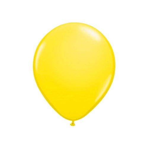 ftballons 13 cm 20er Pack gelb (Blaue Und Gelbe Luftballons)