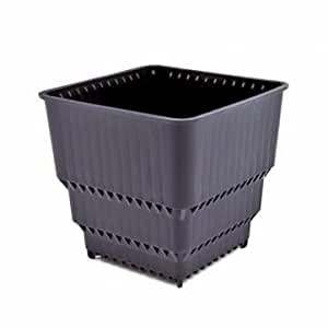 [Envoi GRATUIT 7~12 jours] plastique carre jardin Pots controle racine respirant Flowerpot // Plastic Square Outdoor Garden Pots Control Root Breathable Flowerpot