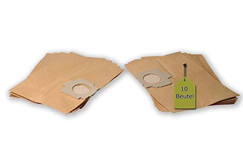 eVendix Staubsaugerbeutel passend für Moulinex 838 - Classic   10 Staubbeutel + 2 Mikro-Filter   kompatibel zu Original-Beutel: 847, B 45