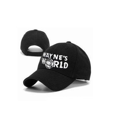 Kostüm Wayne World Wayne's - onlycos Wayne 's World Cap Hat Kostüm Waynes World bestickte Baseball Cap Version
