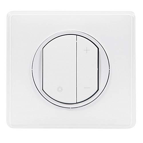 :  Legrand - Interrupteur variateur toutes lampes - Celiane - jusqu'à 400W Blanc- ref 99568