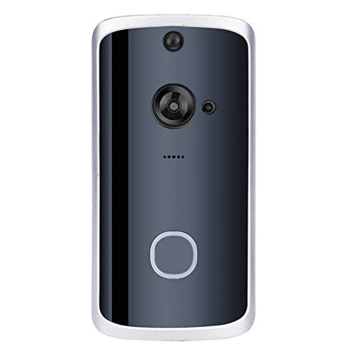 Altsommer Wireless Smart Türklingel Telefon Intercom Ring Türklingel visuelle PIR IR Nachtsicht,Video Doorbell,Video Türklinge,HD-Video, Gegensprechfunktion, Bewegungsmelder (schwarz) Intercom-ring