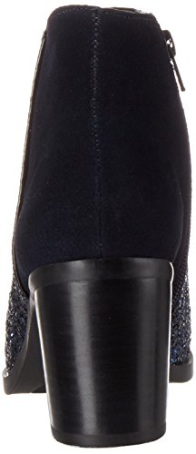 Buffalo 15b66-3 Cow Suede Glitter, Bottes Femme Multicolore (Navy168)