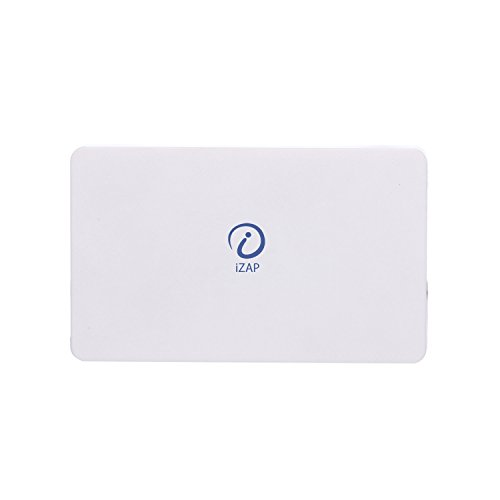 iZAP USB Portable Power Supply 5000mAh Li-Polymer Ultra Slim Power Bank for Apple iPhone Samsung HTC Sony Xiaomi Smartphone (White)  available at amazon for Rs.459