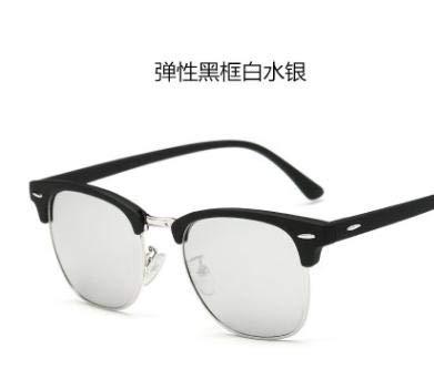 ANKKO ® Klassische Retro-Sonnenbrille für Damen und Herren, J, 1