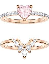 243eb5a92557 Amazon.co.uk  Crystal - Rings   Women  Jewellery